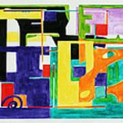 Mindscape II Art Print