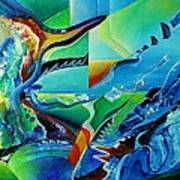 mindscape no.2-Improvisation Saxophone and Piano Art Print