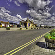 Minehead Station  Art Print