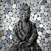 Mineral Buddha Art Print