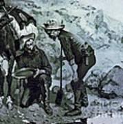 Miners Prospecting Art Print
