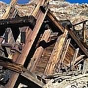 Mines Of Death Valley Art Print