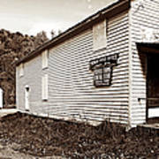 Mingo Post Office And Foxhill Farms General Store Art Print