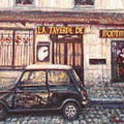 Mini De Montmartre Art Print
