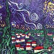 Mini Starry Night Art Print