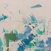 Minimal Blue Art Print