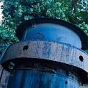 Mining Boiler Art Print