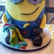 Minion Dessert Cake Art Print