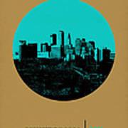 Minneapolis Circle Poster 1 Art Print