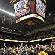 Minnesota Fans Celebrate Victory At Williams Arena Art Print
