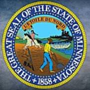 Minnesota State Seal Art Print