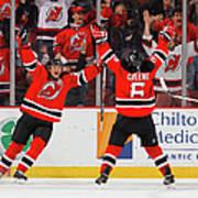 Minnesota Wild V New Jersey Devils Art Print