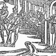Minstrels, 17th Century Art Print