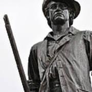 Minute Man Statue Concord Massachusetts Art Print