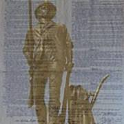 Minuteman Constitution Art Print