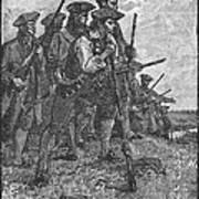 Minutemen, C1776 Art Print