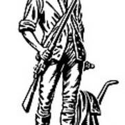 Minutemen Art Print