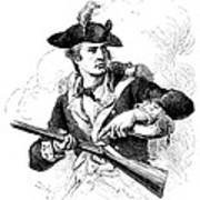 Minutemen Soldier Art Print