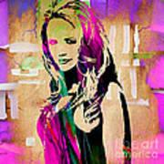 Miranda Lambert Collection Art Print