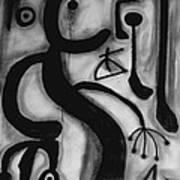 Miro Art Print by Andrea Vazquez-Davidson