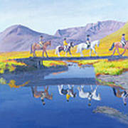 Mirror In The Cairngorms Art Print