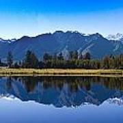 Mirror Lake Panorama Art Print