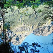 Mirror Lake Three New Zealand Art Print