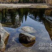 Mirror Lake Threesome 2 Yosemite Art Print