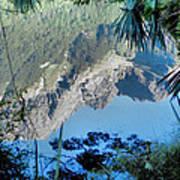 Mirror Lake Two New Zealand Art Print