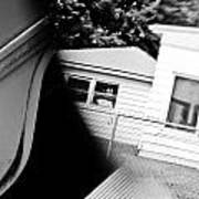 Mirrored House Art Print