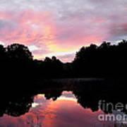 Mirrored In The Lake Art Print