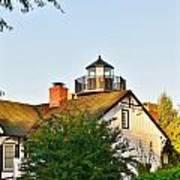 Mispillion Lighthouse - Lewes Delaware Art Print