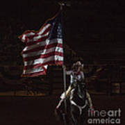 Miss Pro Rodeo Usa Art Print
