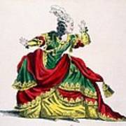 Miss Sainval As Zenobie In Zenobie Art Print