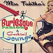 Miss Tabithas Burlesque Parlor Art Print
