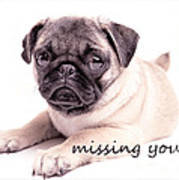 Missing You... Art Print by Edward Fielding