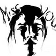 Missing You Art Print