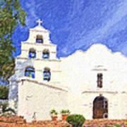 Mission Basilica San Diego De Alcala Usa Art Print