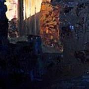 Mission Door At Sunset Art Print