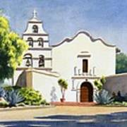 Mission San Diego De Alcala Art Print by Mary Helmreich