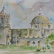Mission San Jose Art Print