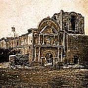 Mission San Jose De Tumacacori Tumacacori Arizona C.1830-2013  Art Print