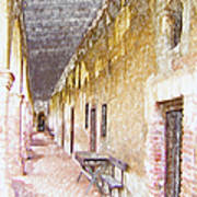Mission San Juan Capistrano No 5 Art Print
