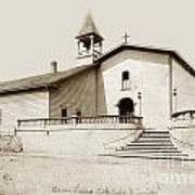 Mission San Luis Obispo Circa 1890 Art Print