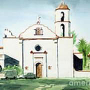 Mission San Luis Rey  Art Print