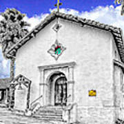 Mission San Rafael Arcangel Art Print
