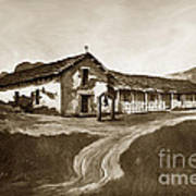 Mission San Rafael California  Circa 1880 Art Print
