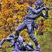 Mississippi At Gettysburg - Desperate Hand-to-hand Fighting No. 5 Art Print