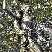 Mississippi At Gettysburg - The Rage Of Battle No. 2 Art Print