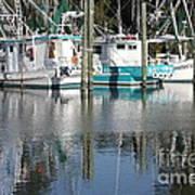 Mississippi Boats Art Print